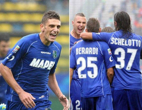 Seconda maglia Sassuolo 2013-2014
