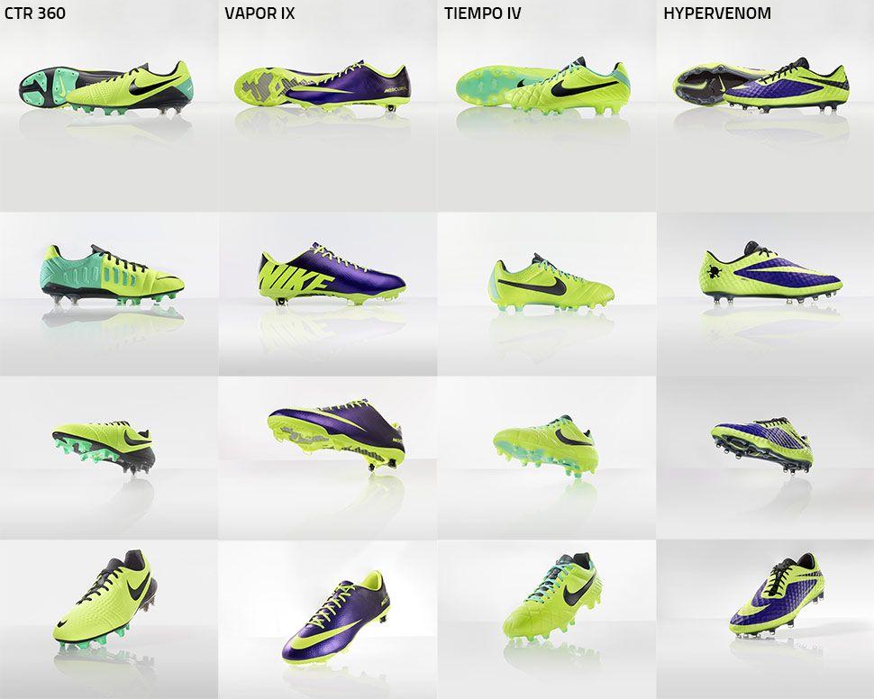 fax Grazie couscous  Le scarpe da calcio Nike Hi-Vis ad alta visibilità in campo