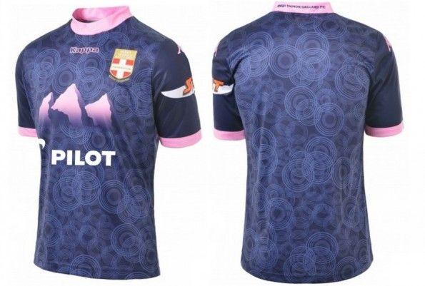 Seconda maglia Evian Thonon Gaillard 2013-2014