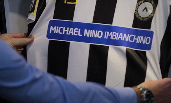 Sponsor Udinese Michael Nino Imbianchino