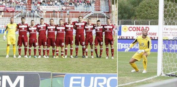 Maglia Trapani portiere giallo 2013-14