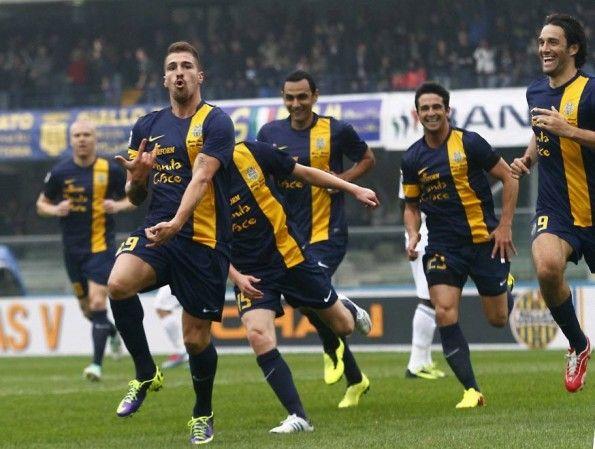 Hellas Verona-Parma Serie A 2013-14