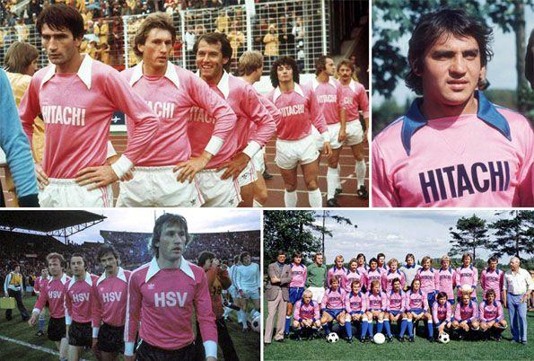 Amburgo 1976-1977 maglia rosa