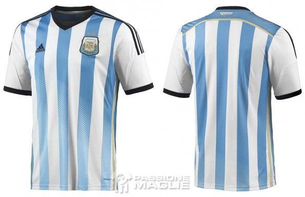 Prima maglia Argentina 2014 adidas