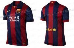 Barcellona maglia 2014-2015 anteprima