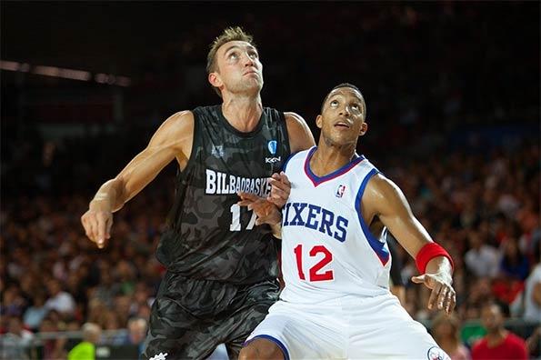 Bilbao-Sixers basket
