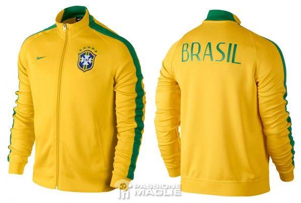 Brazil jacket N98 2014 Nike