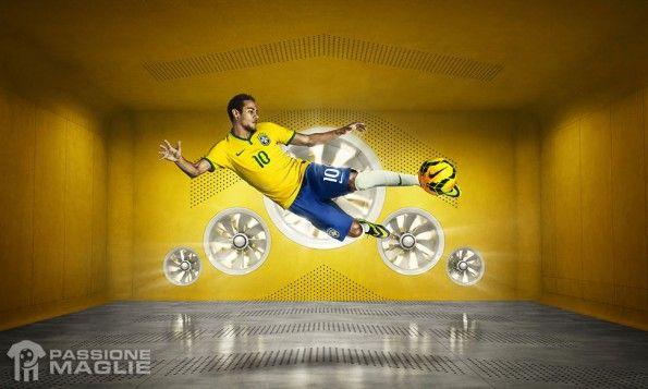 Divisa Brasile 2014 Nike