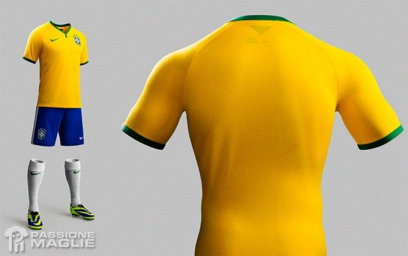 Camisa Brasil 2014 Nike