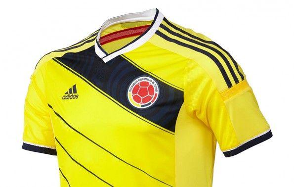 Camiseta Colombia 2014 Brasile