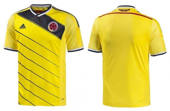 Maglia Colombia Mondiali 2014 adidas