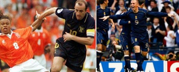 I completi della Scozia nel 1996 e nel 2006