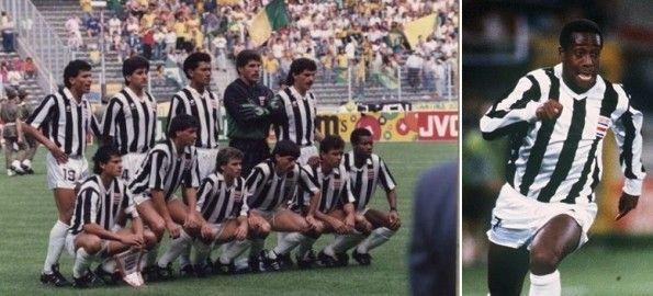 La Costa Rica in bianconero ai Mondiali di Italia '90
