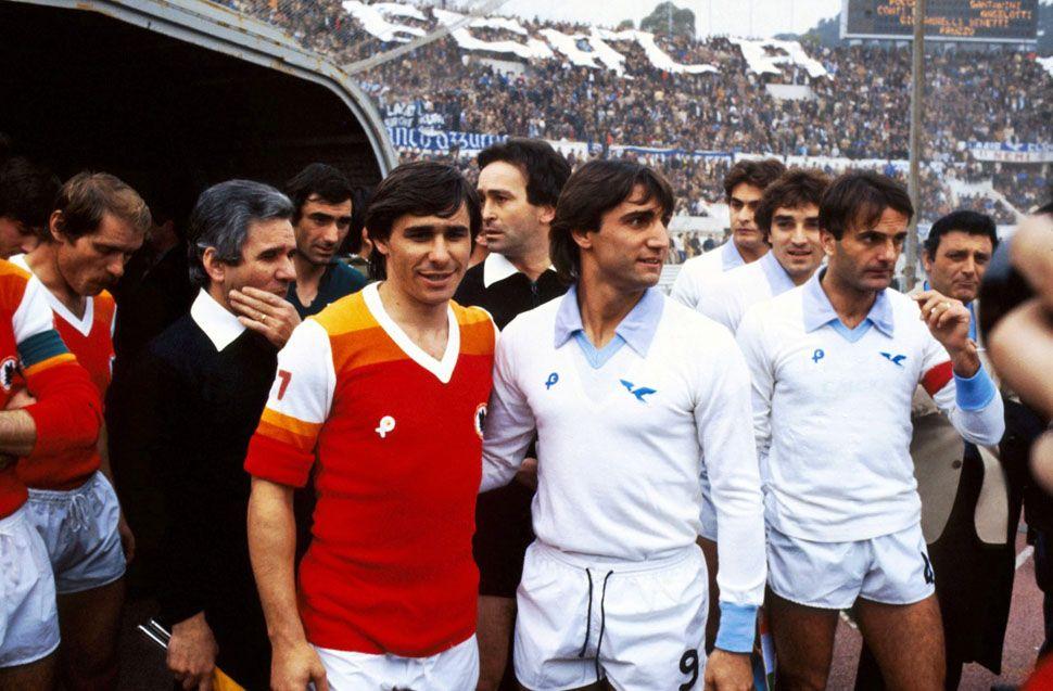 Roma Lazio derby Conti Giordano sponsor tecnico Pouchain