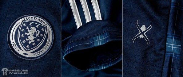 Dettagli maglia Scozia 2014 adidas