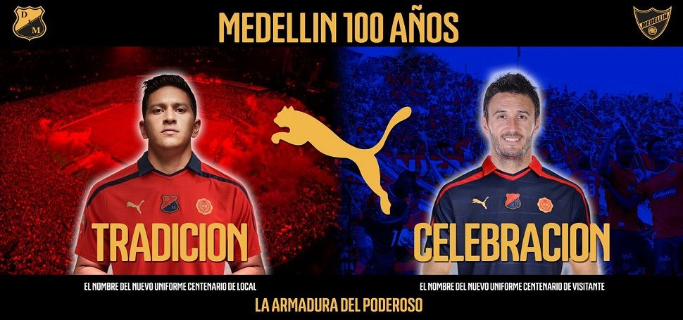 Divise Independiente Medellín 2013-2014 Puma