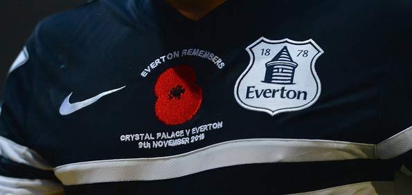Maglia Everton Poppy Day 2013