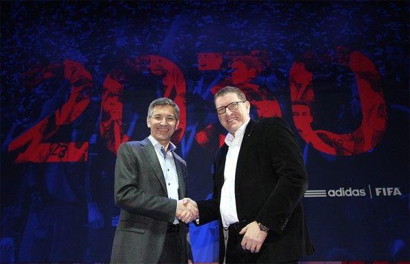 Accordo di partnership FIFA-adidas 2030