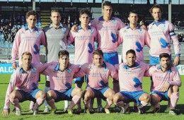 Foligno 2013-2014 maglia third rosa speciale