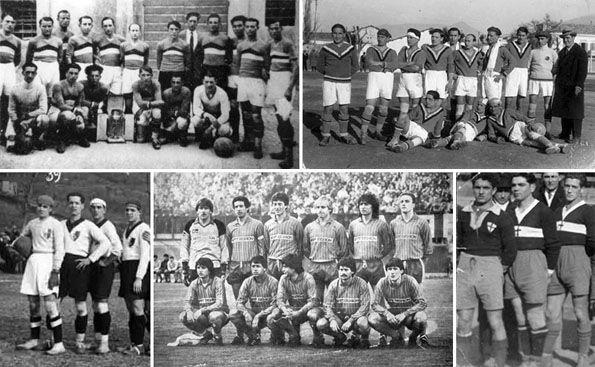 Foligno Calcio maglie storiche