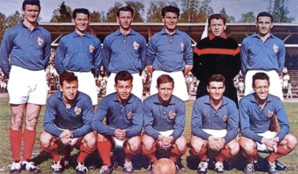 Maglia Francia 1958