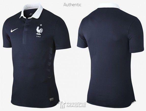Maglia Francia 2014 Mondiali authentic