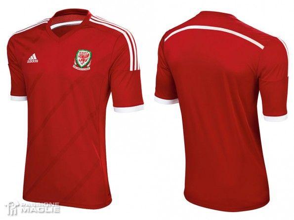 Maglia Galles home 2013-2014