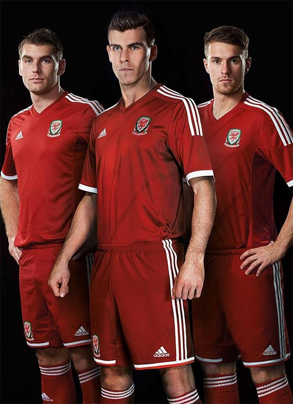 Kit Galles home adidas 2013-2014