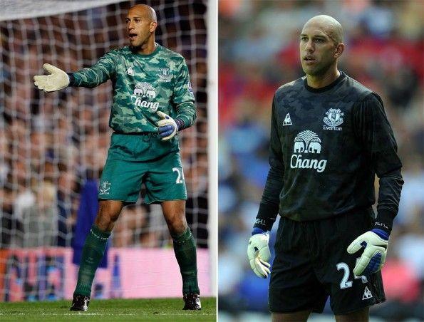 Maglia Everton portiere 2011-2012 camo