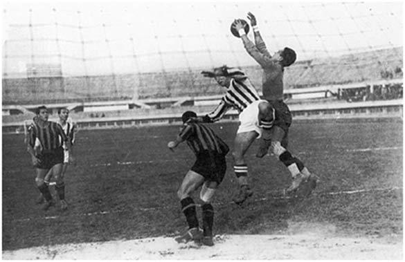 Juventus-L'Aquila nel 1937