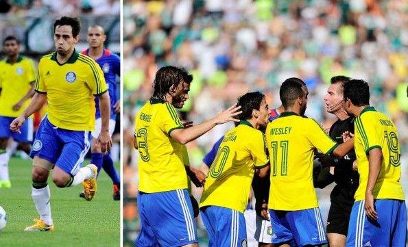 Third kit verdeoro Palmeiras 2013-14