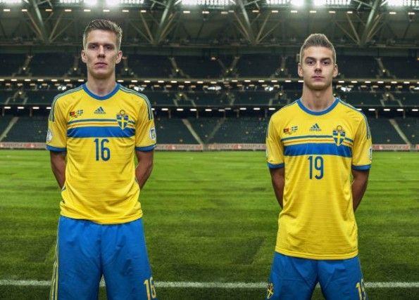 kit home Svezia 2014-2015