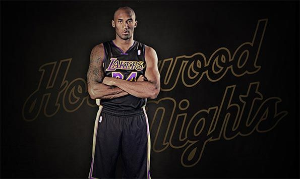 Maglia Los Angeles Lakers Hollywood Nights