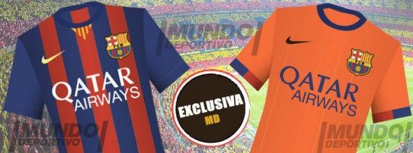 Bozzetto maglia Barcellona 2014-2015