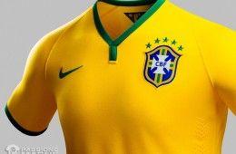 Maglia Brasile Mondiali 2014 Nike