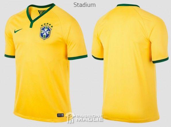 Maglia Brasile Stadium 2014