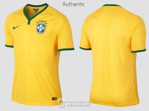 Maglia Brasile 2014 Authentic