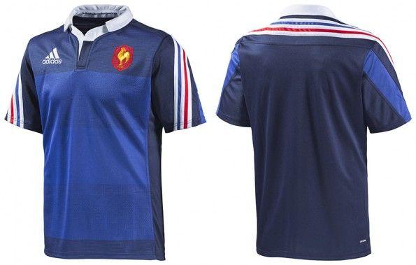 Maglia Francia rugby 2014 adidas