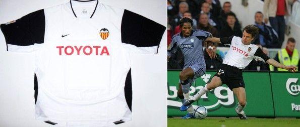 Amedeo Carboni maglia Nike 2003-2004 del Valencia