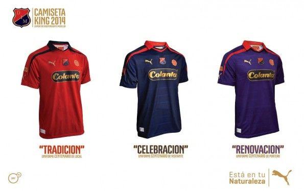 Maglie Independiente Medellín 2013-14 centenario