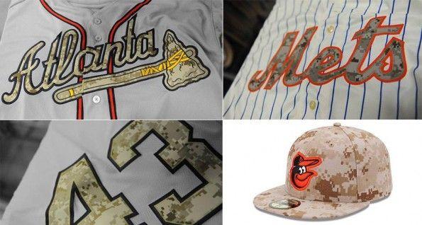 Divise MLB mimetiche 2013