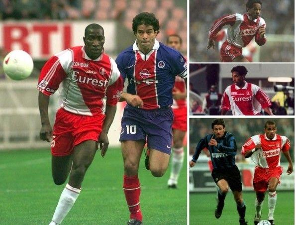 Maglie Monaco stagioni 1996-1998