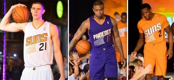 Maglie Phoenix Suns 2013-2014