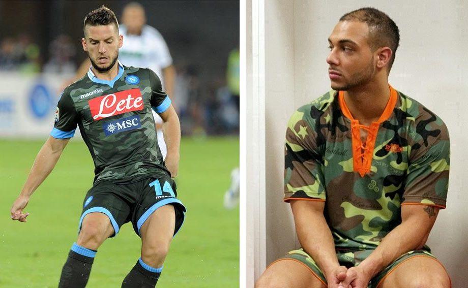Maglia mimetica Napoli Global striker