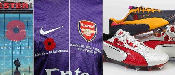 Dettagli Poppy day Manchester-Arsenal