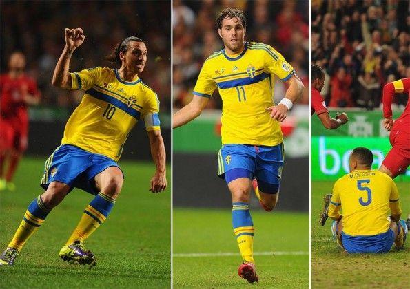 Portogallo-Svezia spareggio Mondiali 2014
