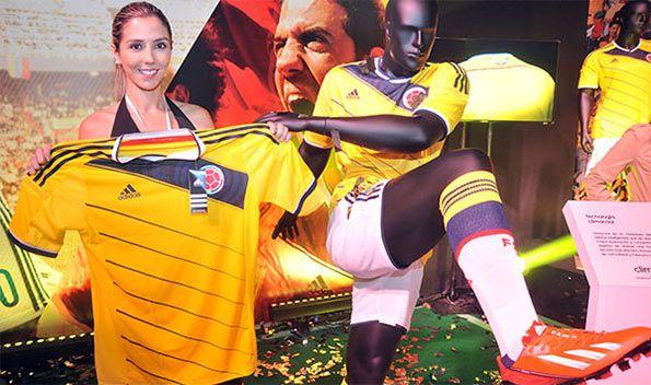 Presentazione kit Colombia 2014-2015