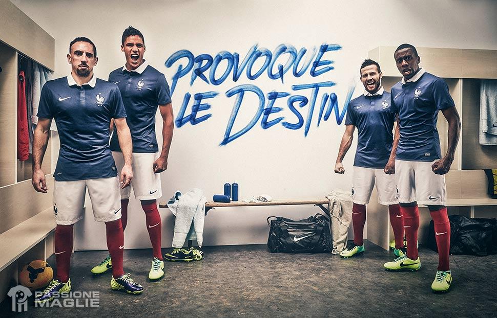 Presentazione kit Francia 2014