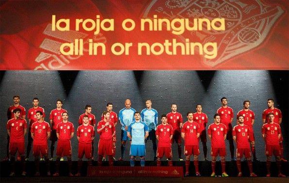 Presentazione maglia Spagna 2014 mondiali