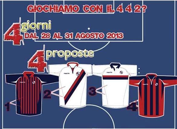 Proposte grafiche maglie L'Aquila Calcio